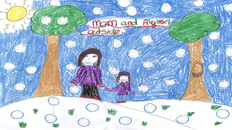 Alyssa Quinn, 9 years old, Grade 4, Holy Name of Mary School