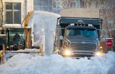 Winter snow storm hits eastern Canada