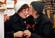 Same sex marriage now legal in Maine
