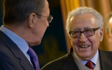 U.N. envoy for Syria Lakhdar Brahimi