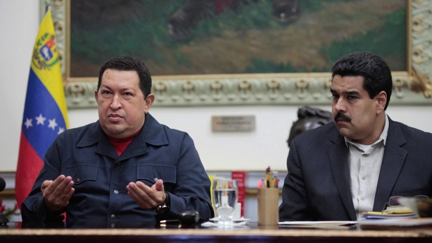 Chavez issues military gratitute through VP