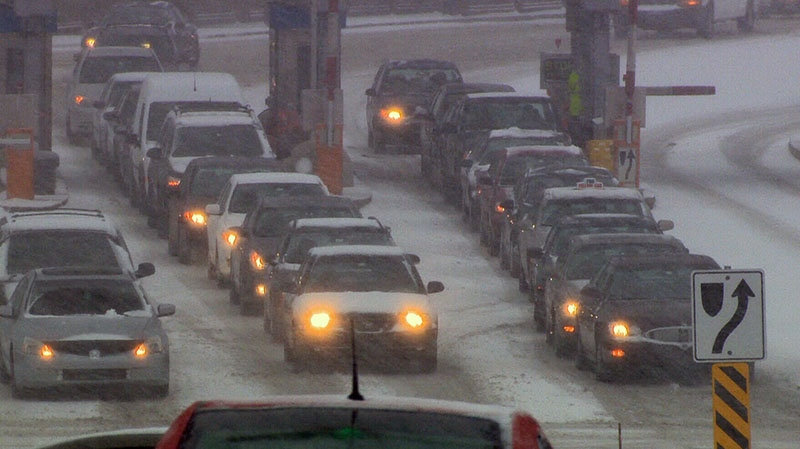After heavy snowfall on Thursday, Dec. 27, 2012, Maritimers are bracing for a second winter storm.