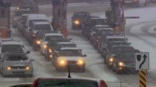 Snow storm Atlantic Canada