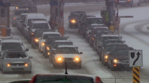 Canada's national forecaster has issued special weather statements for all four Atlantic provinces, which are expecting some wintry weather on Monday and into Tuesday.