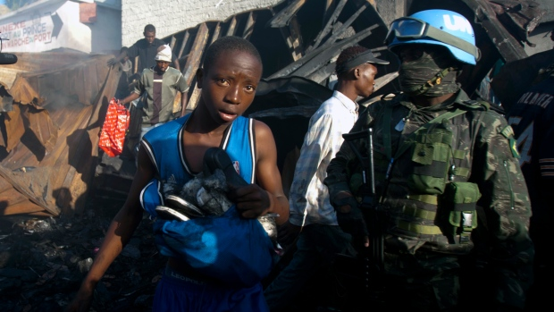 Canada maintains warning to travellers to Haiti