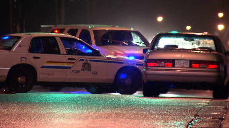 A pedestrian was struck and killed while crossing the road in Burnaby on Friday evening. December 29, 2012. (CTV)