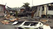 Surrey trailer park fire