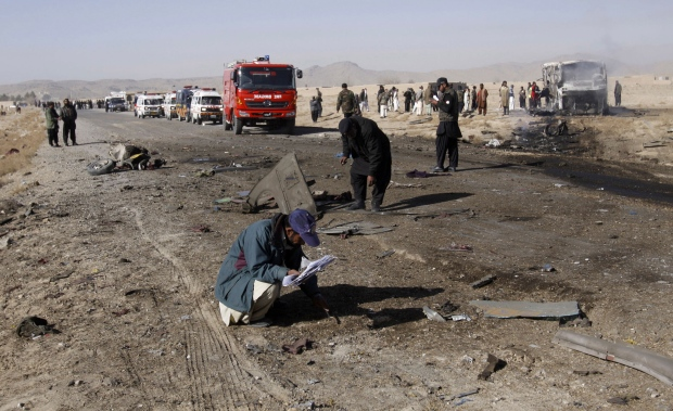 Suicide bombing in Quetta, Pakistan
