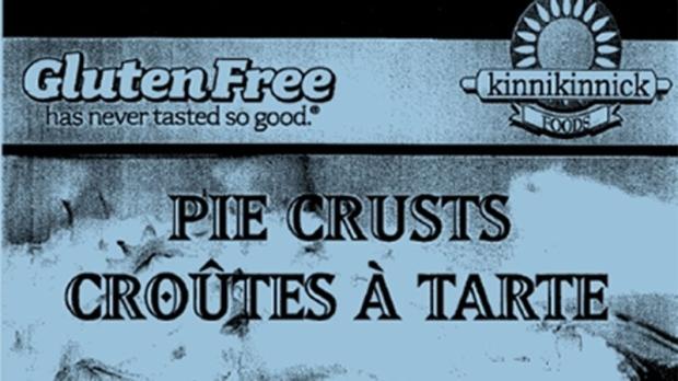 Kinnikinnick brand gluten-free pies crusts