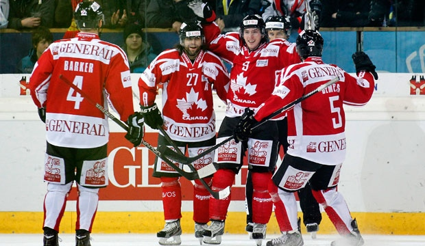 Spengler Cup, Matt duchene, Canada, final