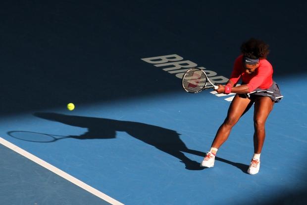 Serena Williams in Brisbane, Australia