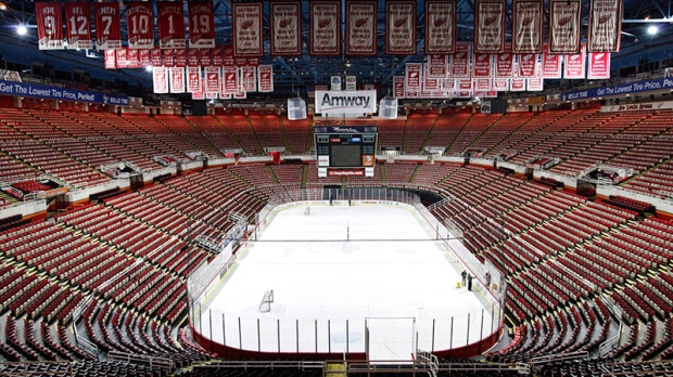 Red Wings fans can buy a piece of history
