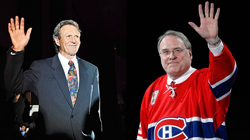 Paul Henderson and Ken Dryden are shown in this this combination image. (Aaron Vincent Elkaim and Ryan Remiorz / THE CANADIAN PRESS)