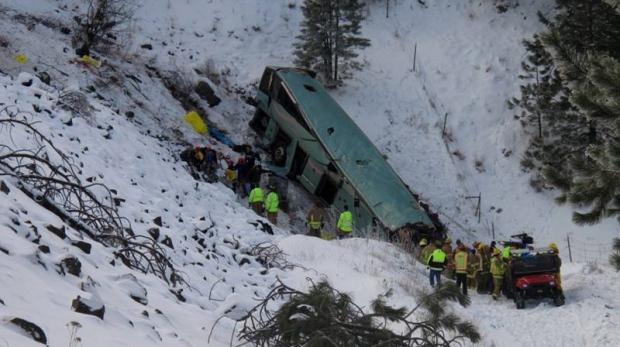 Oregon bus crash