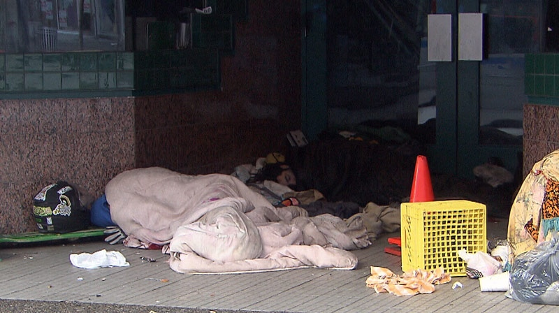 Homeless in Vancouver