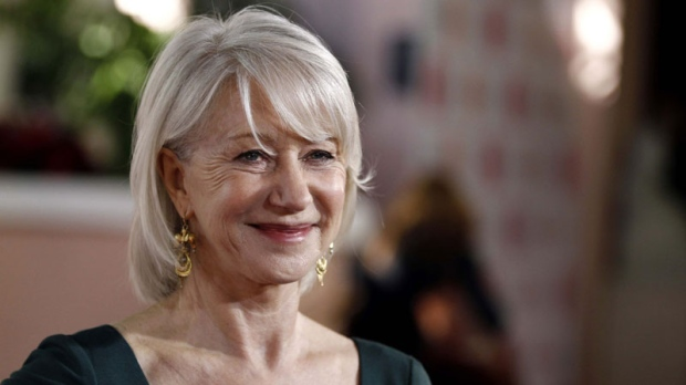 "Actress Helen Mirren arrives at The Hollywood Reporter's ""Power 100: Women in Entertainment Breakfast"" in Beverly Hills, Calif. on Tuesday, Dec. 7, 2010. (AP Photo/Matt Sayles)"