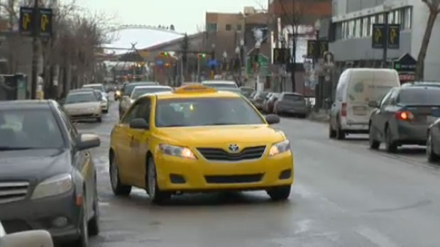 Taxis are expected to be in high demand as Calgarians celebrate the New Year