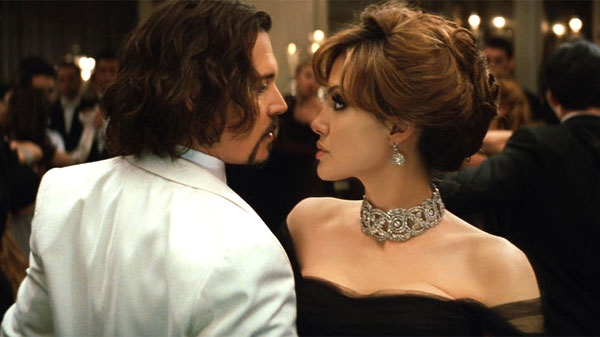 Angelina Jolie and Johnny Depp in Columbia Pictures' 'The Tourist.'