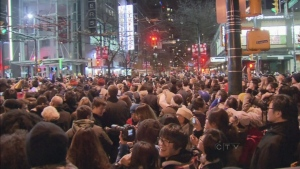CTV BC: New Years bash in Vancouver