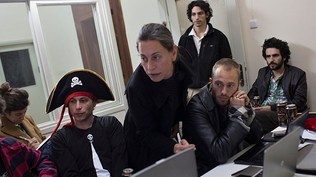 Israel Pirates one of quirky political parties