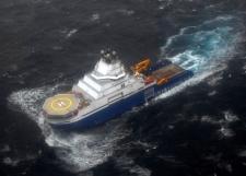 Oil rig grounded in Alaska