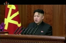 Kim Jong Un first New Year's speech