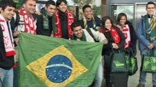 Brazilian students land in Regina