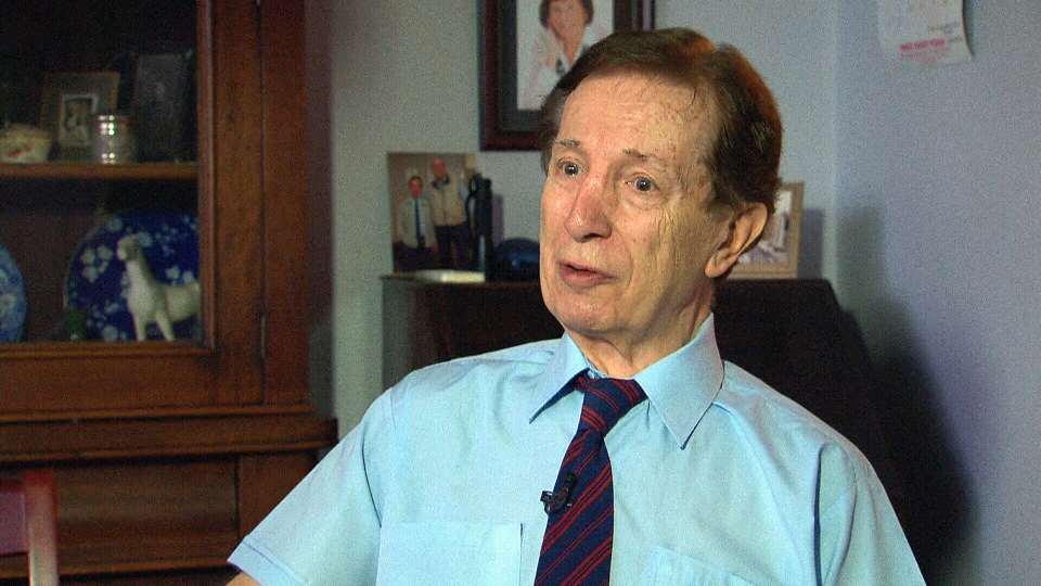 79-year-old Anthony Honeywood hopes his stem cells will help him to walk comfortably again.