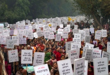 India gang rape protest