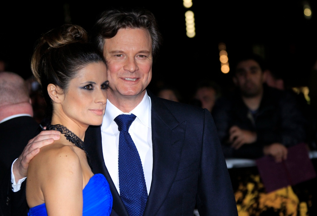 Colin Firth and his wife prefer hand-me-downs for their ...
