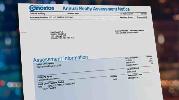 Edmonton property tax