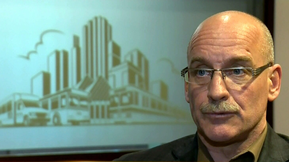 Director of operational support Ron Gabruk speaks about Edmonton's transit policies after the attack that left one man dead on Friday, Dec. 28, 2012.