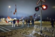 Idle No More blockade