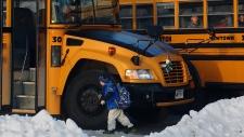 Sandy Hook students return to classes
