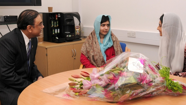 Malala Yousufzai's dad given diplomatic role