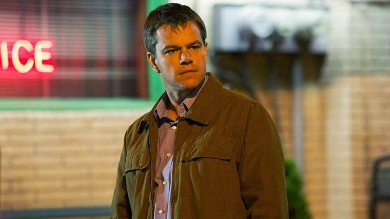 Matt Damon in a scene from Focus Features' 'Promised Land'.