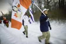 Idle No More protest blockade