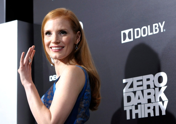 Actress Jessica Chastain will not date actors
