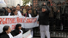 Protest against rape, murder India
