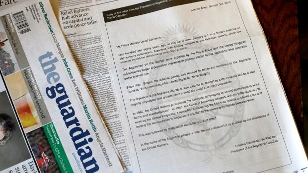 Argentina calls on U.K. to relinquish control