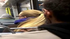 Hair incident on CTrain