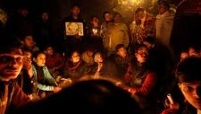India gang rape vigil