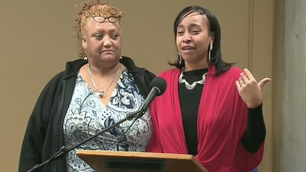 Dana Lee Williams, wife of Tyshaun Riley, a leader of the infamous Galloway Boys gang in Scarborough, said on Friday, July 10, 2010 that many live in a world of gang warfare.