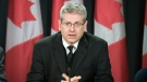 NDP MP Charlie Angus speaks to the press about the Idle No More protests and Chief Theresa Spence's hunger strike Friday, Jan. 4, 2013.