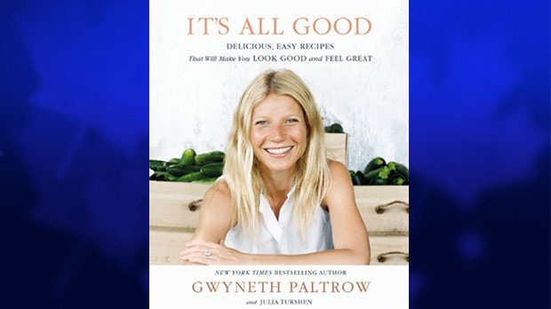 Gwyneth Paltrow writes cookbook