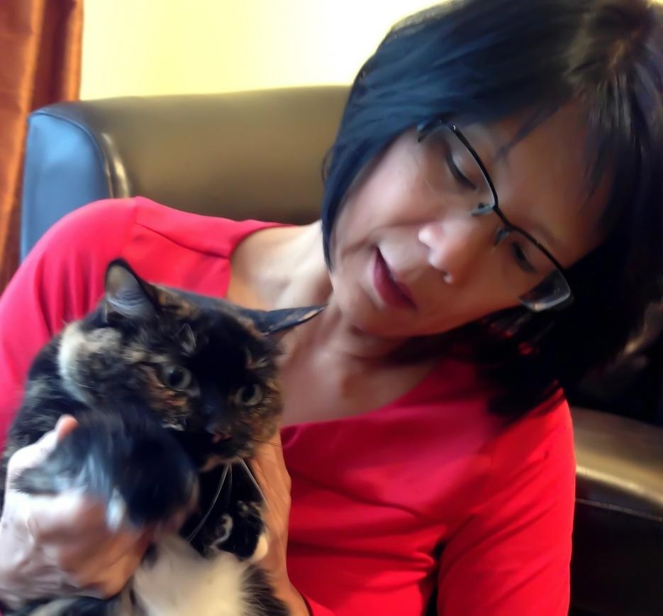 Toronto MP Olivia Chow tweeted this photo of herself on Friday, Jan. 4, 2013. 'I look a little different these days,' she wrote. 'I got a temporary facial nerve disorder caused by the chicken pox virus.'