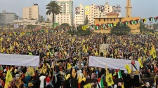 Fatah celebrations in Gaza