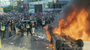 Man sentenced in Stanley Cup riots.