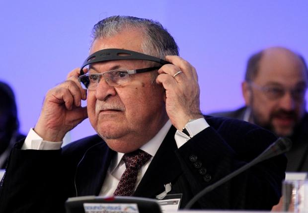Iraqi president recovering from stroke