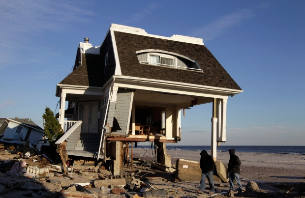Google car documents Hurricane Sandy damage